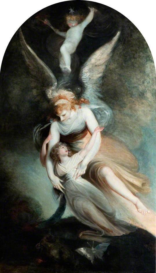 The Apothesis of Penelope Boothby - Henry Fuseli