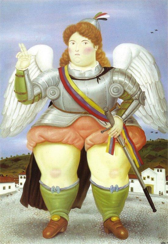 The Archangel Gabriel - Fernando Botero