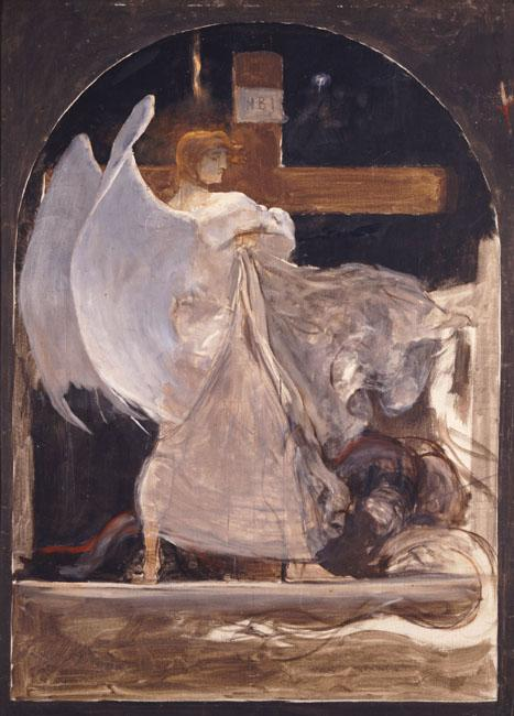 The Archangel, Study for