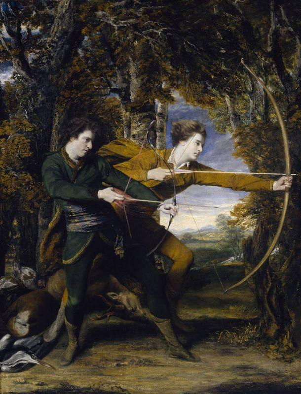 Colonel Acland and Lord Sydney: The Archers - Joshua Reynolds