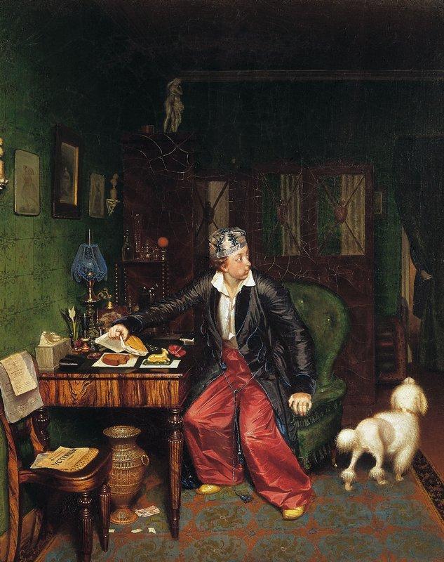 The Aristocrat's Breakfast - Pavel Fedotov