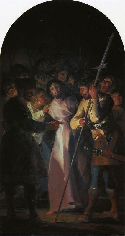 The Arrest of Christ - Francisco Goya
