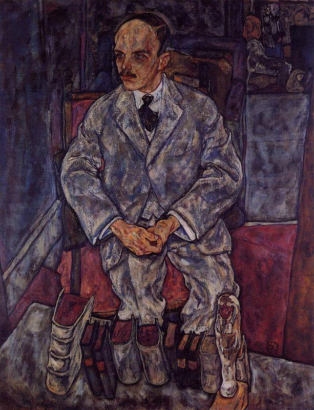 The Art Dealer Guido Arnot - Egon Schiele