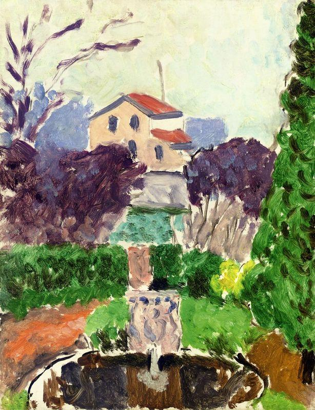 The Artist's Garden at Issy les Moulineaux - Henri Matisse