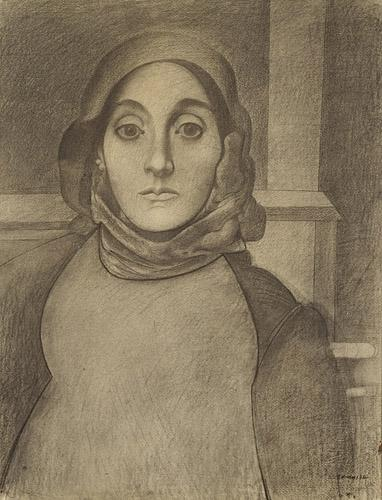 The Artists's Mother - Arshile Gorky