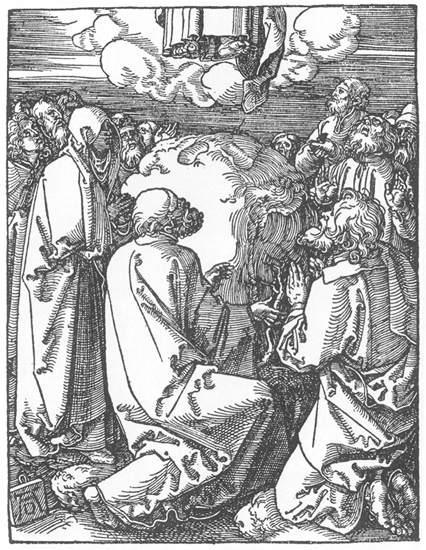 The Ascension - Albrecht Durer