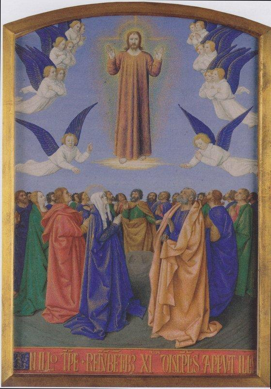 The Ascension of the Holy Spirit - Jean Fouquet