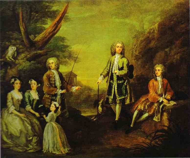 The Ashley and Popple Family  - William Hogarth