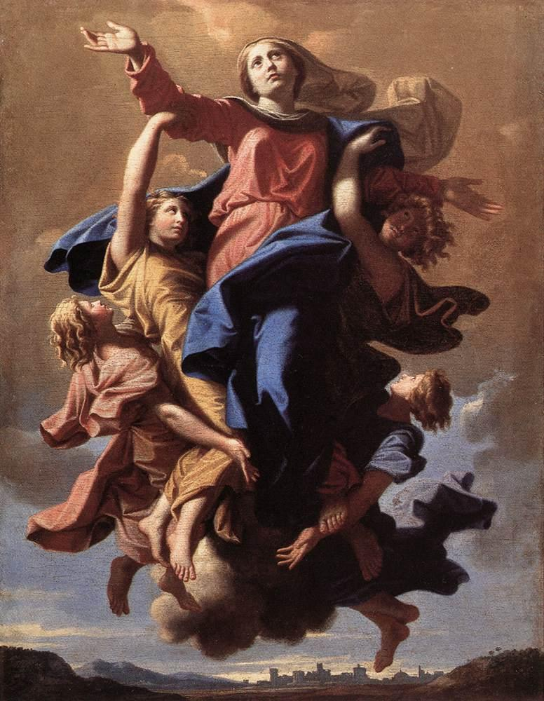The Assumption of the Virgin - Nicolas Poussin