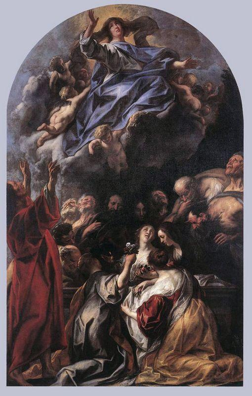 The Assumption of the Virgin - Annibale Carracci