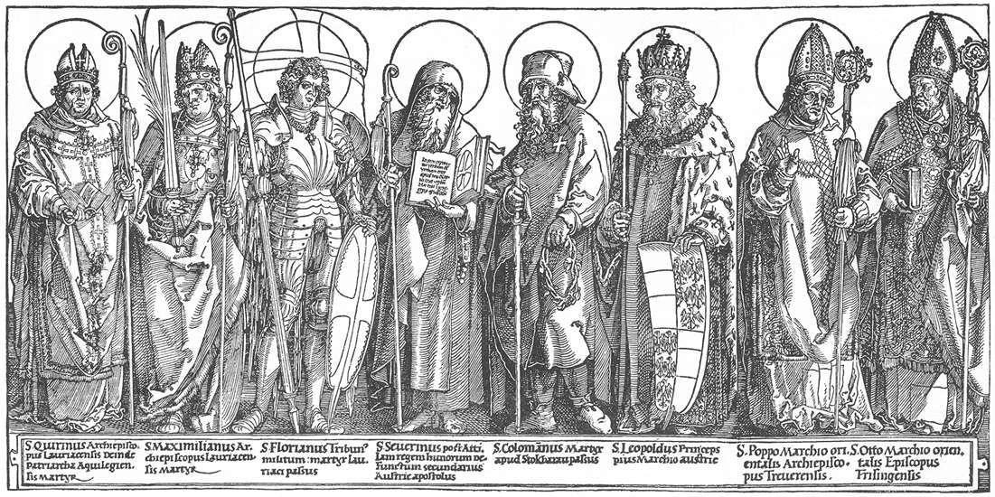 The Austrian Saints - Albrecht Durer