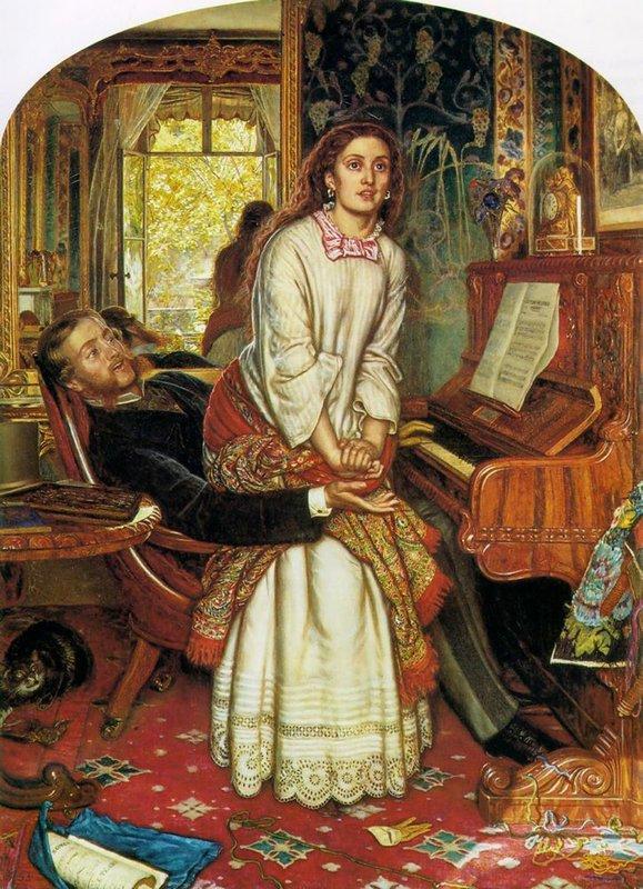 The Awakening Conscience  - William Holman Hunt