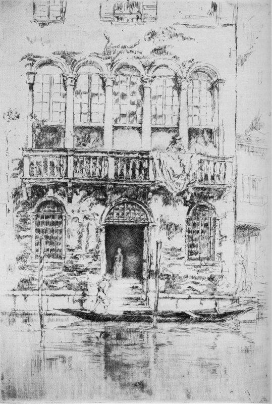 The Balcony - James McNeill Whistler