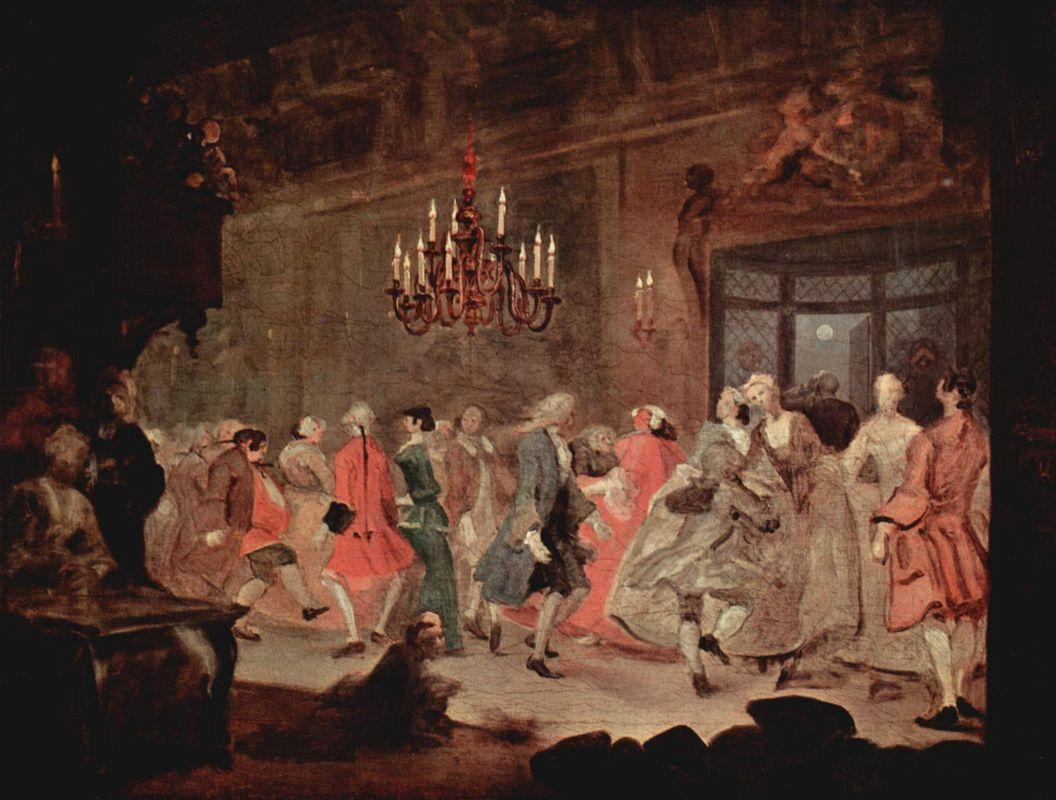The Ball - William Hogarth