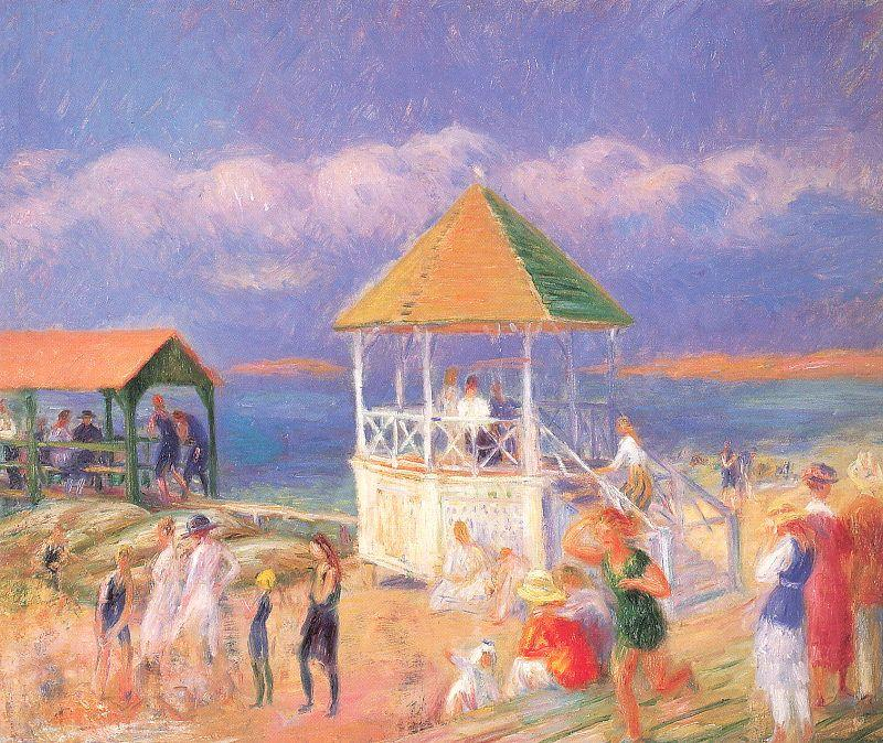 The Bandstand - William James Glackens