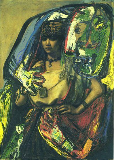 The Barber and the Berber (Defiguration) - Asger Jorn