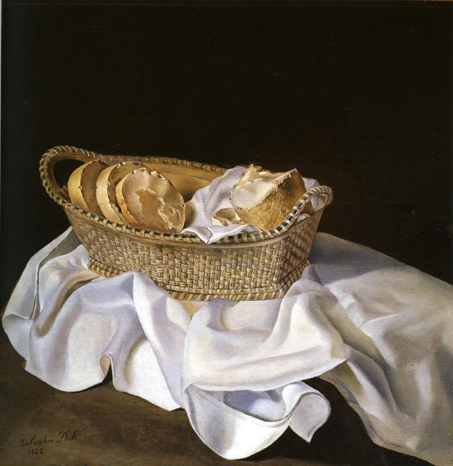 The Basket of Bread - Salvador Dali