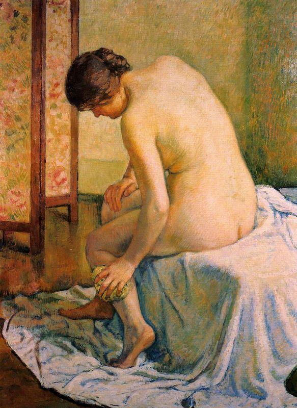 The Bather - Salvador Dali