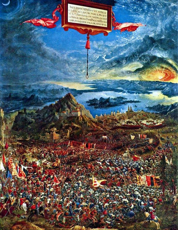 The battle of Issus - Albrecht Altdorfer