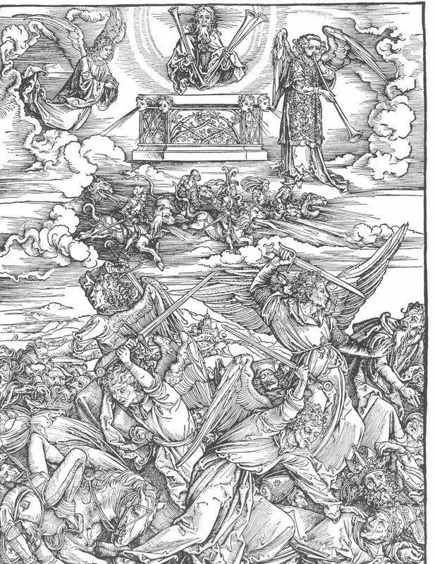The Battle of the Angels - Albrecht Durer
