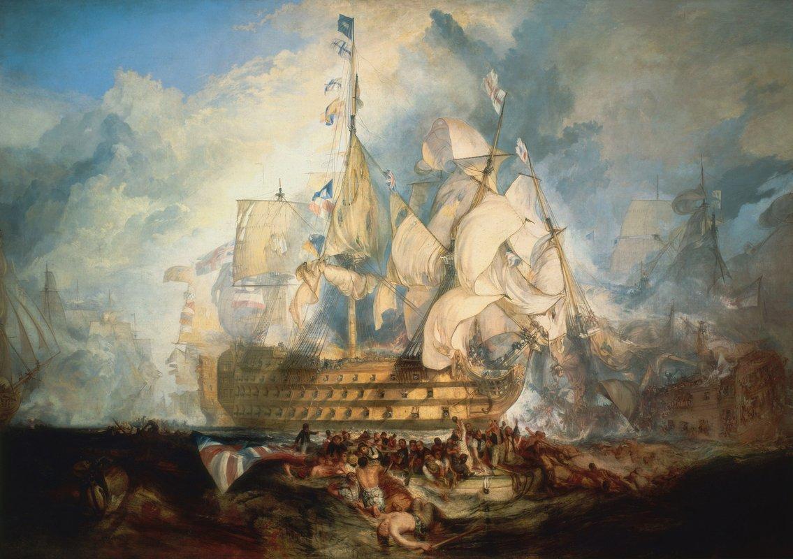 The Battle of Trafalgar - William Turner
