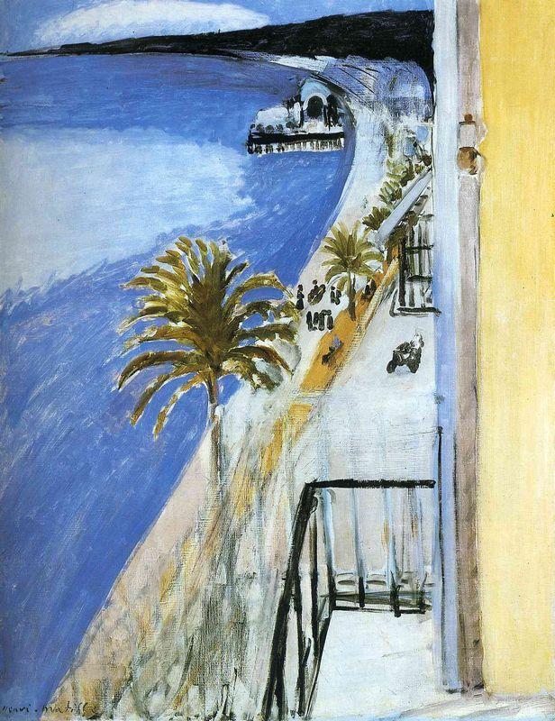 The Bay of Nice - Henri Matisse