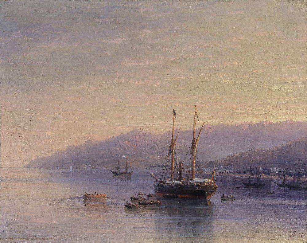The Bay of Yalta - Ivan Aivazovsky