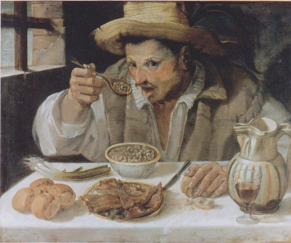 The Beaneater - Annibale Carracci