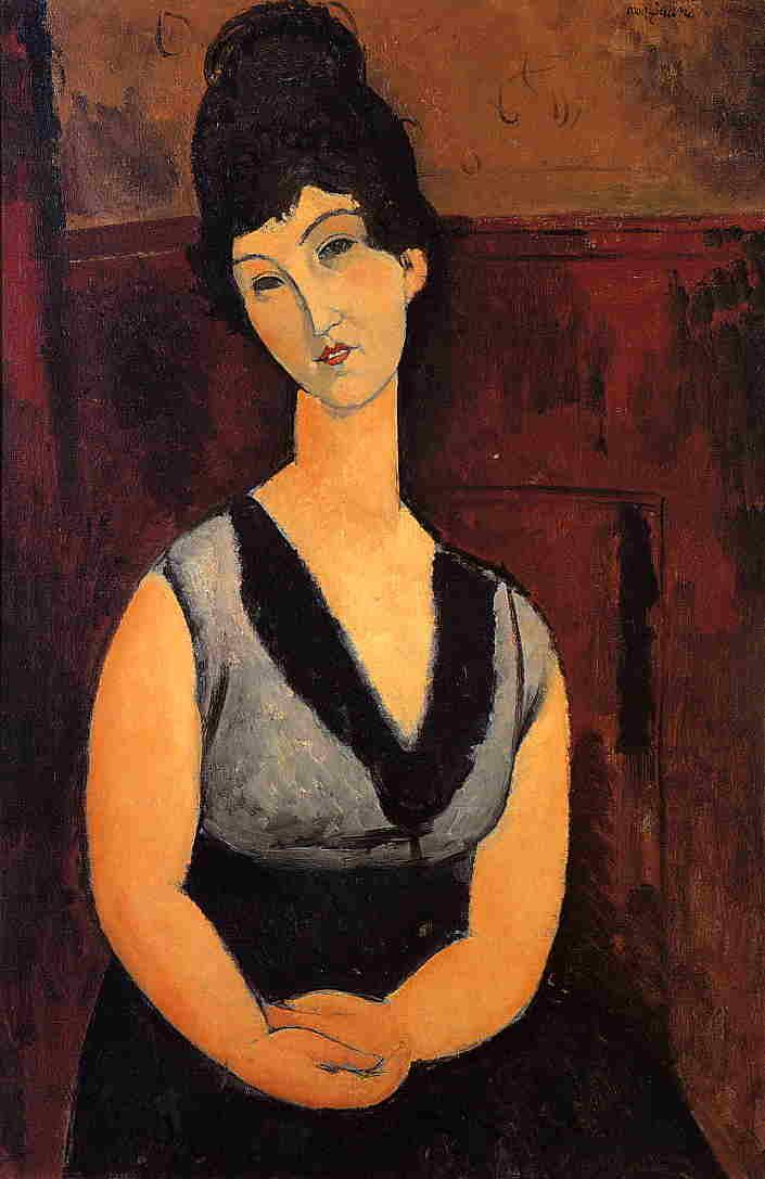 The Beautiful Confectioner - Amedeo Modigliani