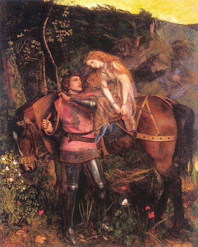 The Beautiful Lady Without Pity - Arthur Hughes