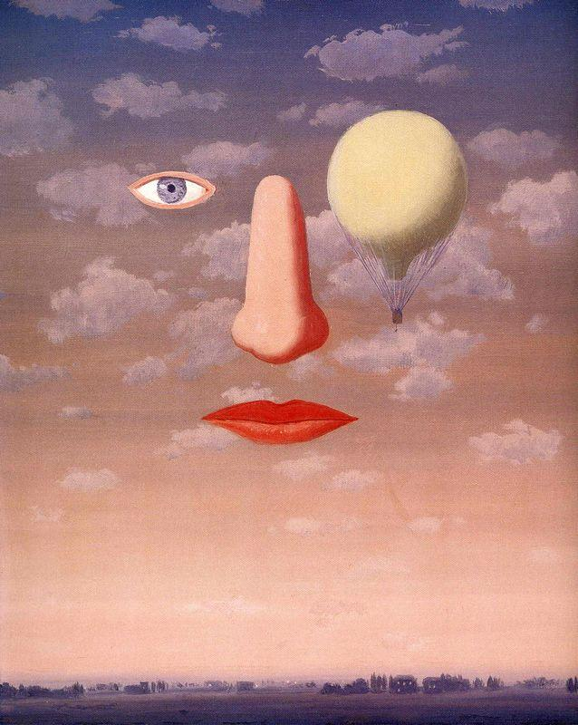The beautiful relations - Rene Magritte