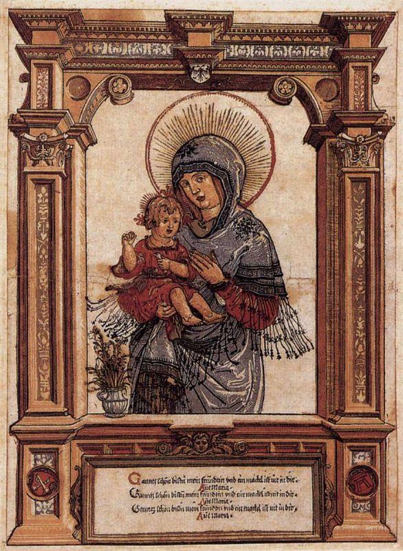The Beautiful Virgin of Regensburg - Albrecht Altdorfer