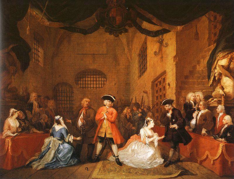 The Beggar's Opera - William Hogarth
