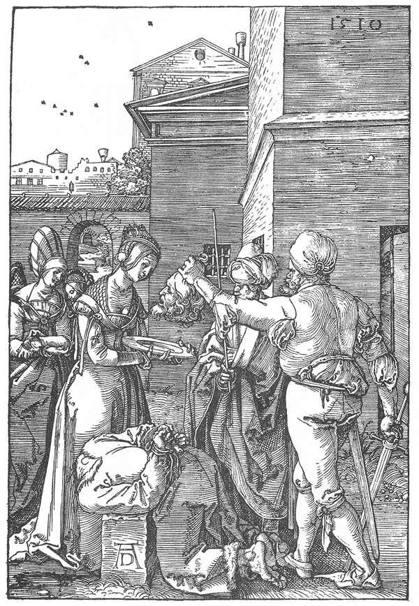 The Beheading of St John the Baptist - Albrecht Durer
