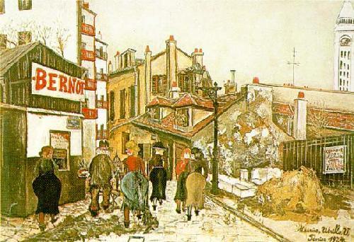 The Bernot's House - Maurice Utrillo