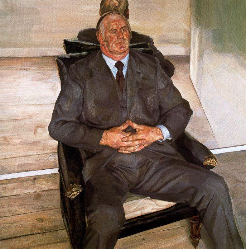 The Big Man - Lucian Freud