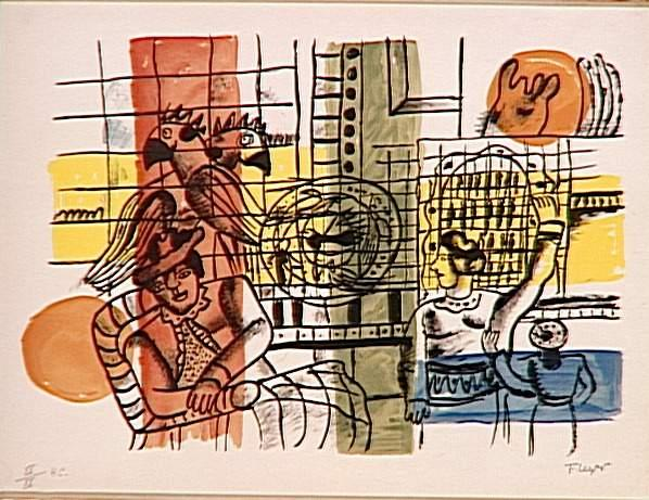 The bird market - Fernand Leger