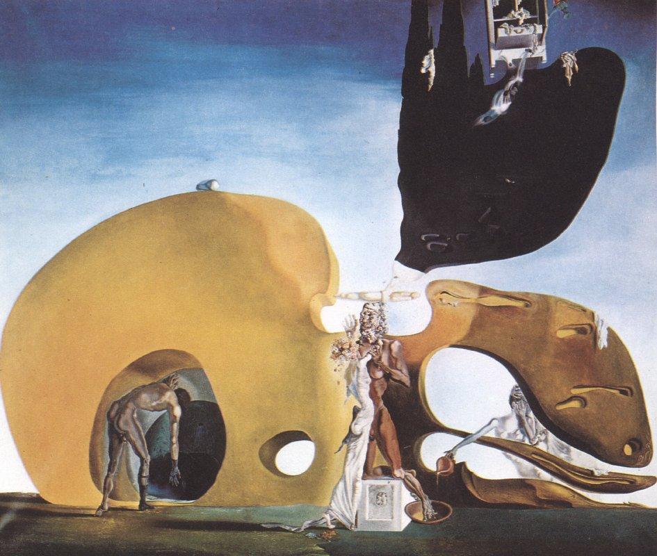 The Birth of Liquid Desires - Salvador Dali