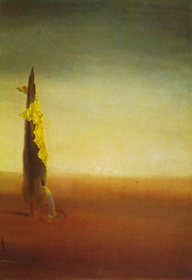 The Birth of Liquid Fears - Salvador Dali