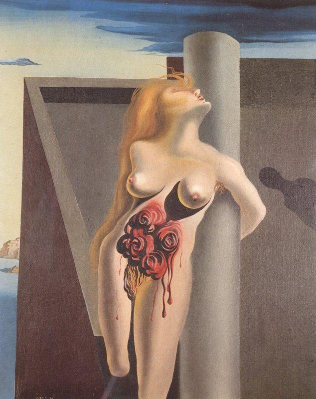 The Bleeding Roses - Salvador Dali