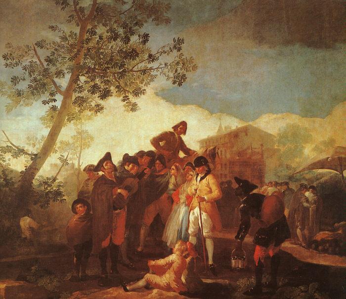 The Blind Guitar Player - Francisco Goya
