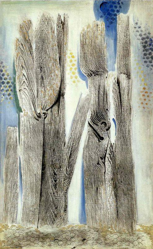 The Blue Forest - Max Ernst