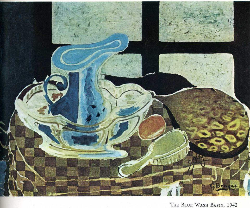 The Blue Washbasin  - Georges Braque