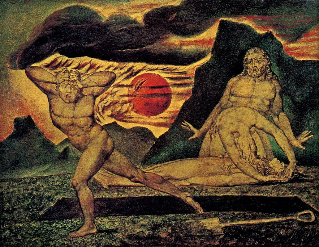 The Body of Abel Found by Adam & Eve - William Blake