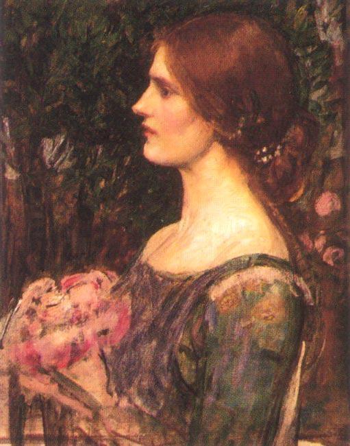 The Bouquet - John William Waterhouse