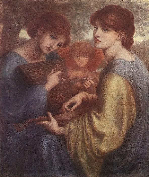 The Bower Meadow - Dante Gabriel Rossetti