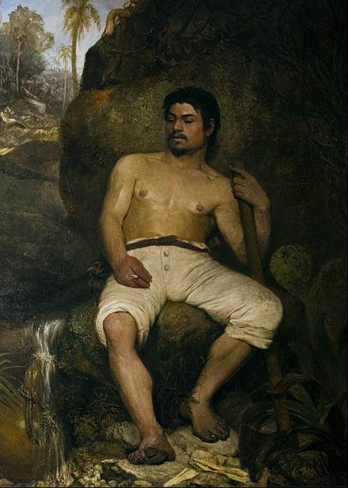 The Brazilian lumberjack - Jose Ferraz de Almeida Junior