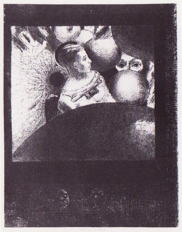 The Breath which Leads All Creatures is also in the Spheres - Odilon Redon