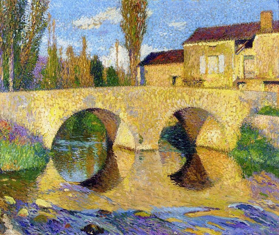 The Bridge of Bastiide-du-Vert - Henri Martin