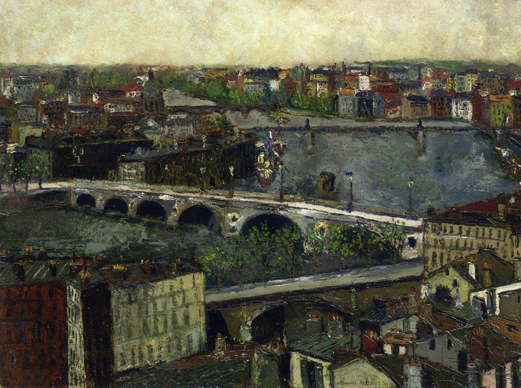 The Bridges of Toulouse - Maurice Utrillo